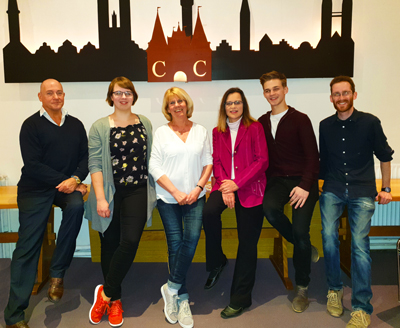 Der neue Vorstand beim Tanzclub Concordia Lübeck e.V. Foto: TCC
