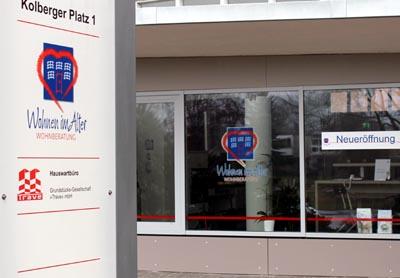 Der Pflegestützpunkt ist bei der Wohnberatung am Kolberger Platz zu Gast. Foto: RB