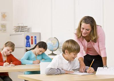 Etwa eineinhalb Millionen Lehrkräfte unterrichten in Deutschland. Foto: Agentur für Arbeit.