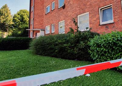 Einen Bienenschwarm in der Ziegelstraße beschäftigte am Mittwoch Polizei und Feuerwehr. Fotos: simbamail.de