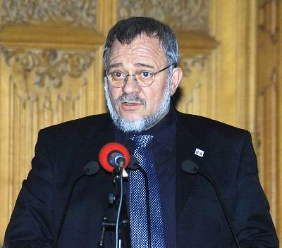 Lienhard Böhning ist Vorsitzender der Erich Mühsam Gesellschaft.
