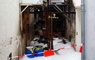 Die Ermittler schließen auch einen technischen Defekt als Brandursache nicht aus. Foto: Oliver Klink