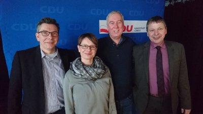 Der CDU Ortsverband Lübeck-Süd will einen  regulären Zebrastreifen für die Maria-Goeppert-Straße.