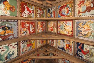 Das Projekt 'Leuchtendes Mittelalter' im Geschichtserlebnisraum Roter Hahn ist fertiggestellt. Foto: Christiane Schröder