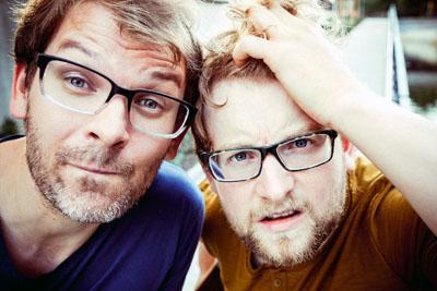Das Duo macht auf seiner aktuellen Tour Station in der Kunsttankstelle. Foto: Veranstalter