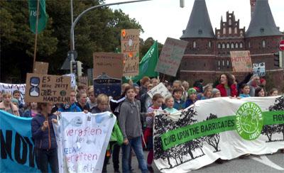 Die Bewegung Fridays For Future ruft zu einer Mahnwache für den Regenwald auf.
