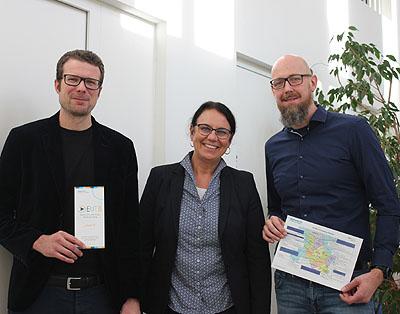 Auch in Lübeck wurde mit Landespastor Heiko Naß  eine neue Beratungsstelle zur Teilhabe von behinderten Menschen eröffnet. Foto: Diakonie