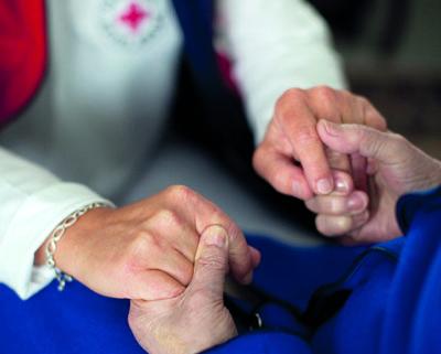 Das Deutsche Rote Kreuz stellt am Donnerstag die Möglichkeiten einer ehrenamtlichen Tätigkeit vor. Foto: Andre Zelck/DRK
