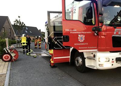 Die Feuerwehr bekam die Lage schnell unter Kontrolle. Foto: DS