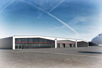 Das neue Terminal. Bild: Architekten gmp