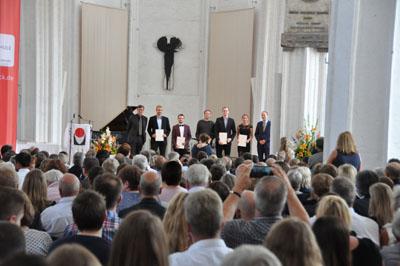Am Freitag werden in einer Feierstunde in St. Petri traditionell die erfolgreichen Absolventen verabschiedet. Foto: FH Lübeck