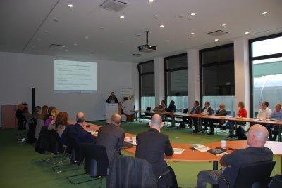 Beim ersten foodRegio food forum traf angewandte Forschung auf die Ernährungswissenschaft. Foto: Wirtschaftsförderung Lübeck