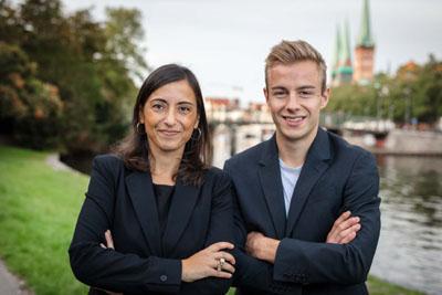 Die Fraktionsvorsitzenden Michelle Akyurt und Bruno Hönel wollen dass der Haushalt 2020 ein Klimaschutzhaushalt wird.