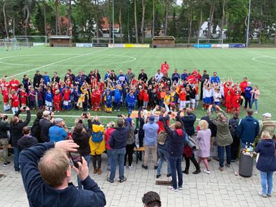In Groß Grönau wurde am Donnerstag eines der größten FairNino-Turniere gespielt. Fotos: Andreas Bewersdorf