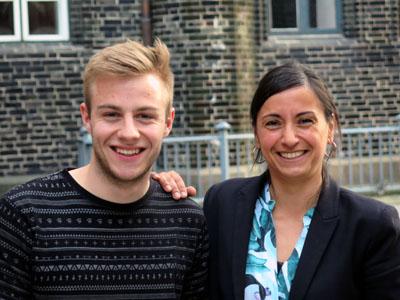Michelle Akyurt und Bruno Hönel möchten Entscheidungen zur Innenstadt nicht auf die lange Bank schieben.