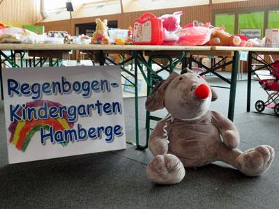 In Hamberge findet am Sonntag wieder der große Kleider- und Spielzeugmarkt statt. Foto: Stefan Gahrmann