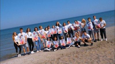 OGT Schüler präsentieren das Baltic Colour Festival. Foto: TSNT
