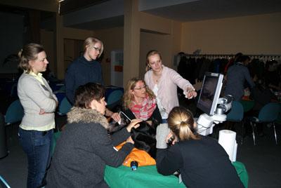 Kleintierpraktiker werden von Referenten der Universität München weitergebildet. Foto: Veranstalter