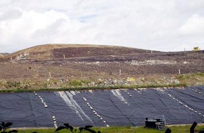 Der Umweltminister aus Schleswig-Holstein möchte sich vor Ort informieren, welche Maßnahmen auf der Deponie getroffen werden.