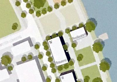 Vier Studentengruppen haben sich Gedanken um die Kanalstraße gemacht. Grafik: Lübeck Management