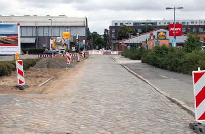 Die Leitungen wurden verlegt, jetzt beginnt der Neubau der Kantstraße auf Marli. Fotos: VG
