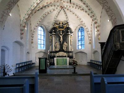 St. Georg in Genin lädt zu einem unterhaltsamen plattdeutschen Gottesdienst ein. Foto: Kirchenkreis