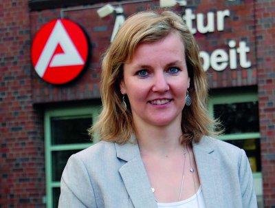 Steffi Koppitz, Bereichsleiterin in der Agentur für Arbeit Lübeck, rät Akademikern nach der Elternzeit den Workshop zu nutzen. Foto: Agentur für Arbeit