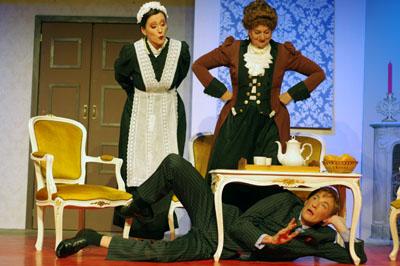 Das Stück ist auch an den kommenden Wochenende im Volkstheater Geisler zu sehen. Fotos: Veranstalter