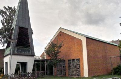 Die Kirche wurde im Jahr 2011 abgerissen. Foto: Archiv