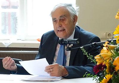 Prof. Dr. Ruprecht Wimmer sprach über das Verhältnis von Thomas Mann zum Kommunismus. Fotos/O-Ton: Harald Denckmann