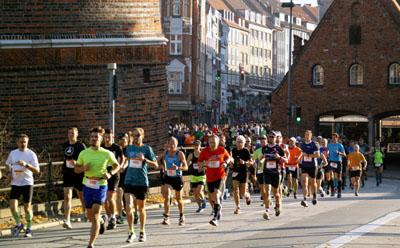 Iim näheren Umfeld des Marathons ist mit Verkehrsbehinderungen zu rechnen.