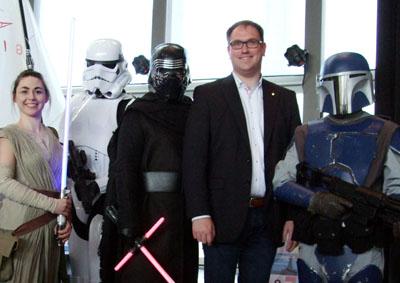 Bürgermeister Jan Lindenau eröffnete die Modellbau-Ausstellung in der MuK. Fotos: MuK