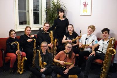 Die acht jungen Musikerinnen und Musiker reisen als musikalische Botschafter Lübecks nach Shaoxing. Foto: privat