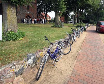 Zu den einzelnen Stationen geht es mit dem Fahrrad. Foto: Veranstalter