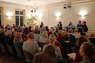 Das Interesse an dem Thema war groß. Fotos: Karl Erhard Vögele