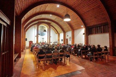Am Sonntag findet der zweite ökumenische Patientengottesdienst in St. Thomas statt. Foto: Martin Ahrens/Veranstalter