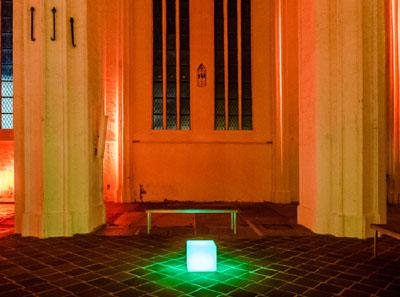 Wissenschaft trifft Religion und Kunst: Am späten Samstagabend geht es in St. Petri um das Vermischen. Fotos: Thorsten Biet