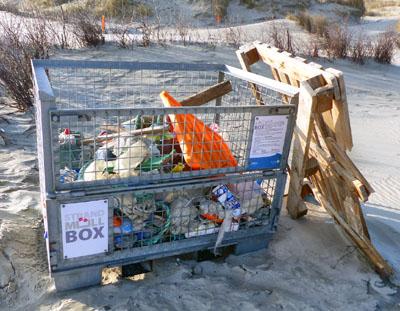 Neben dem sichtbaren Plastikmüll ist auch zunehmend Mikroplastik ein Problem. Foto: Dr. Karin Steinecke