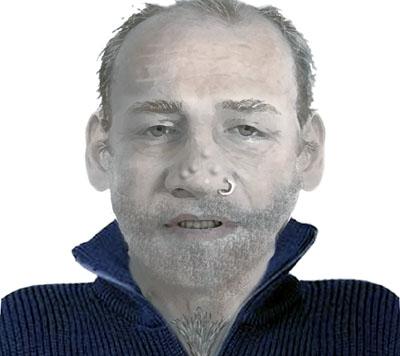 Mit diesem Phantombild sucht die Polizei nach dem Täter. Bilder: Polizei