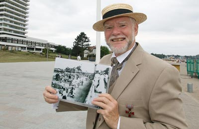 Wolf Rüdiger Ohlhoff liest am Dienstag op Platt. Foto: JW/Archiv