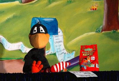 Der kleine Rabe Socke plant eine ungewöhnliche Party... Foto: Veranstalter