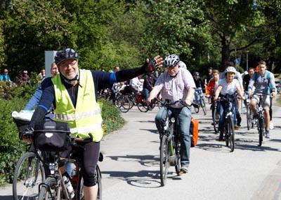 Der ADFC in Lübeck bietet eine Vielzahl von Radtouren an.