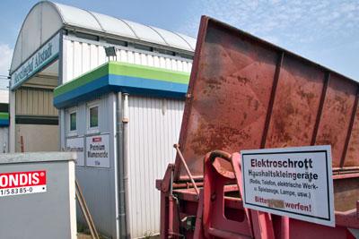 In der kommenden Woche öffnet der Wertstoffhof in der Kanalstraße, eine Woche später folgt die Anlage in der Schwartauer Allee.