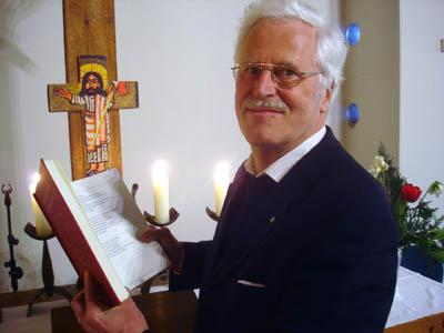 Heinz Rußmann predigt am Sonntag in St. Andreas in Schlutup.