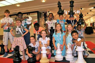 Das Finale wird mit dem  großen Kinderschach Cup ausgespielt. Foto: Veranstalter