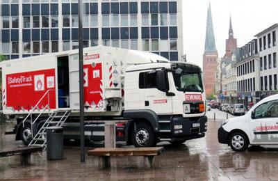 Das Schadstoff- und das Servicemobil sind wieder unterwegs.