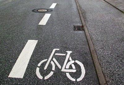 Der Bauausschuss berät unter anderem über den Schutzstreifen für Radfahrer in der Fregattenstraße.
