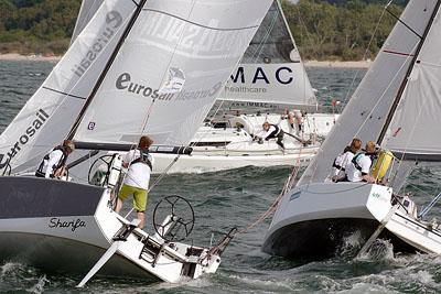 Am Donnerstag gab es endlich den passenden Wind für die Wettbewerbe. Fotos: Karl Erhard Vögele