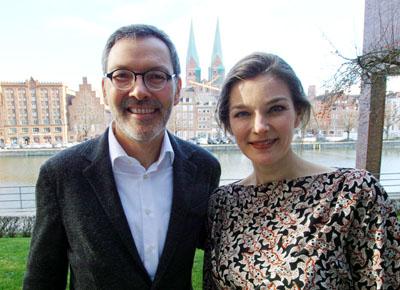 Intendant Dr. Christian Kuhnt freut sich auf die Konzerte von Janine Jansen. Fotos: JW