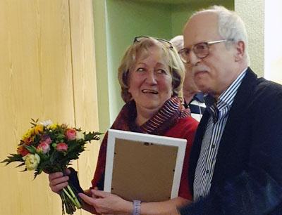 Julia Kruschke wurde Ehrenmitglied der GKG Silbermöwe. Foto: GKG